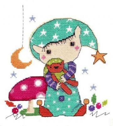 Time for Bed Cross Stitch Kit